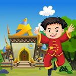 G4K Happy Chinese Boy Rescue Game