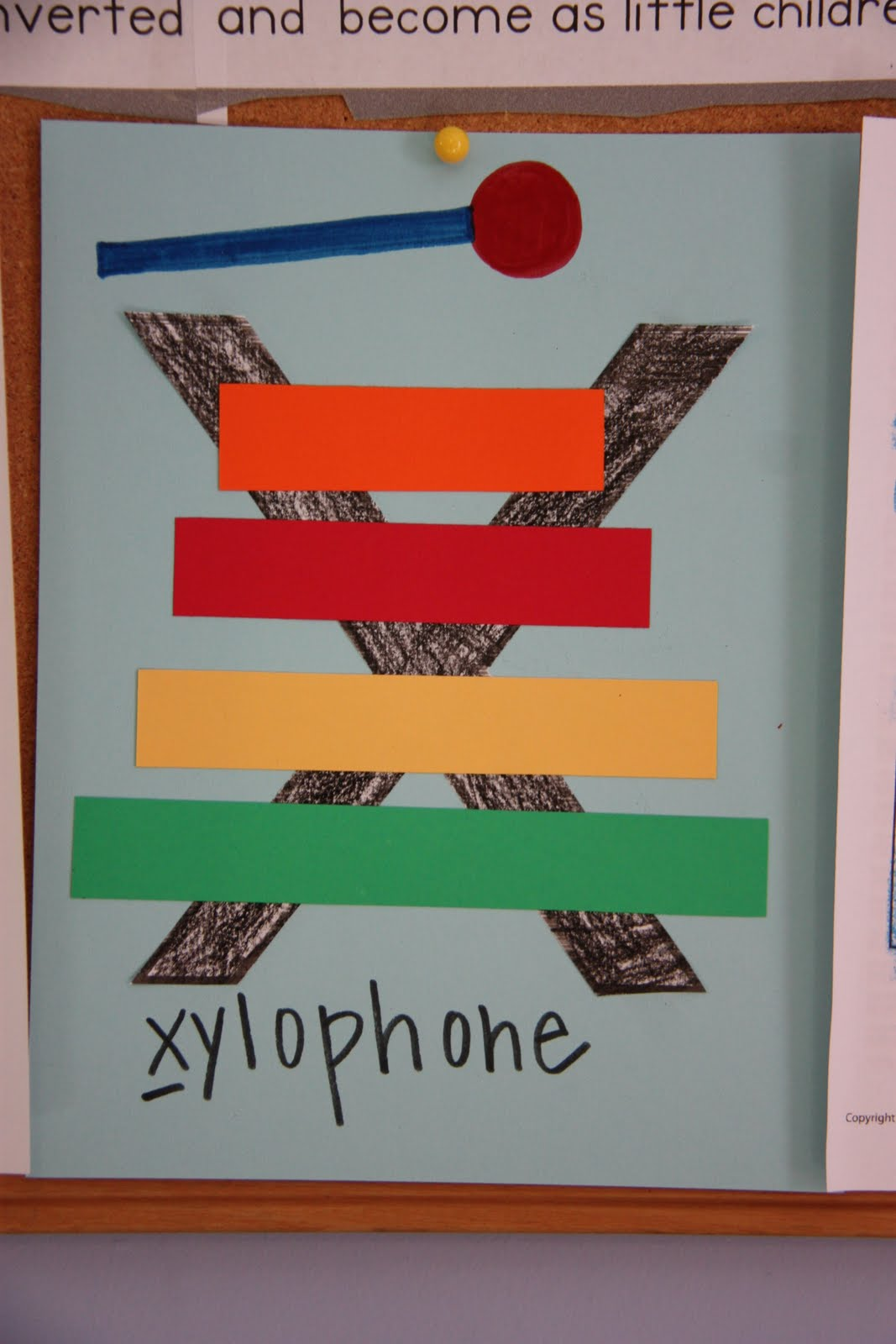 X Xylophone Craft