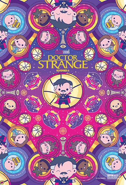 Doctor Strange Theatrical One Sheet Movie Poster by 100% Soft x Disney Movie Rewards