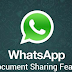WhatsApp Update App Now Introduce PDF Document File Sharing On iOS and Android