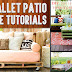 20+ DIY Pallet Patio Furniture Tutorials For A Chic And Practical Outdoor Patio!