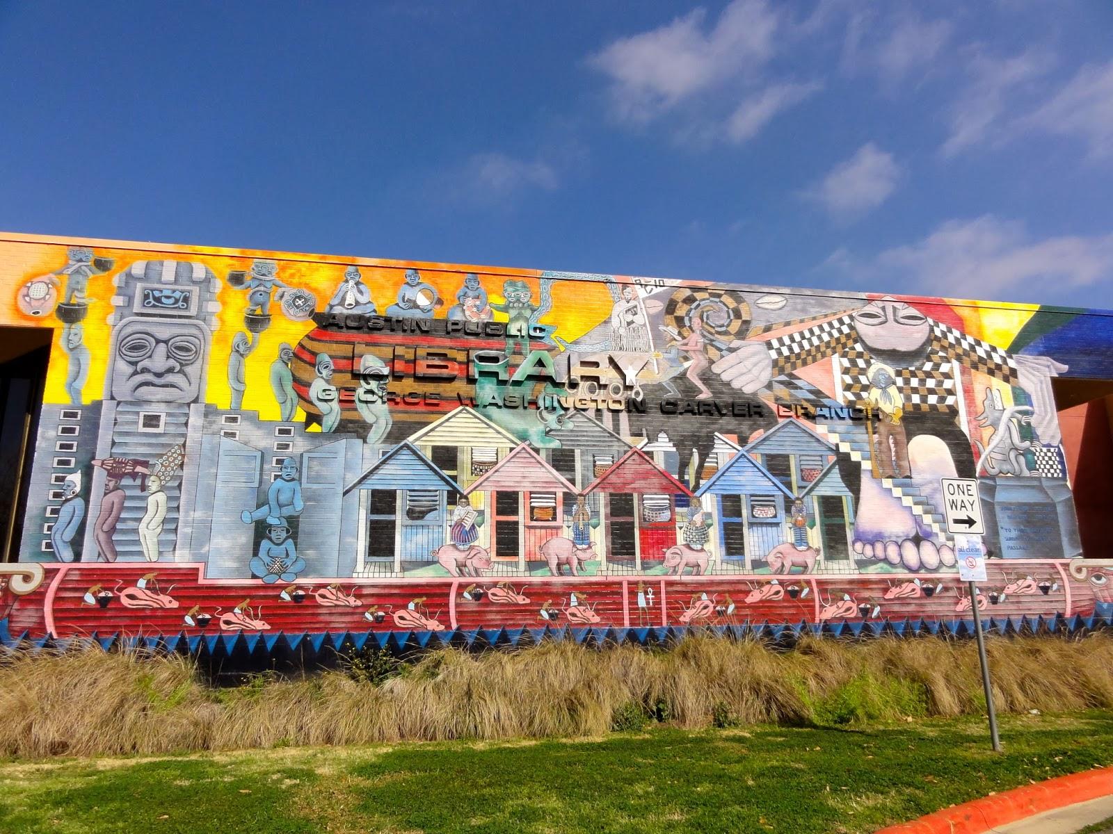 Austin Mural Sesquicentennial: 1161 Angelina