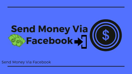 Send Money Via Facebook