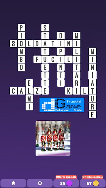 Soluzioni One Clue Crossword livello 21 schemi 2 (Cruciverba illustrato)  | Parole e foto