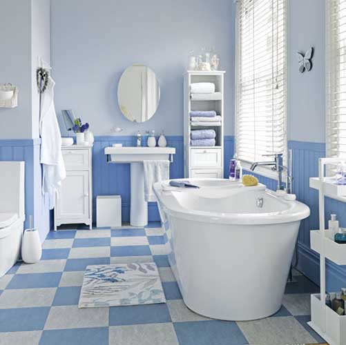 50 Pictures Of Simple Blue Color Bathroom