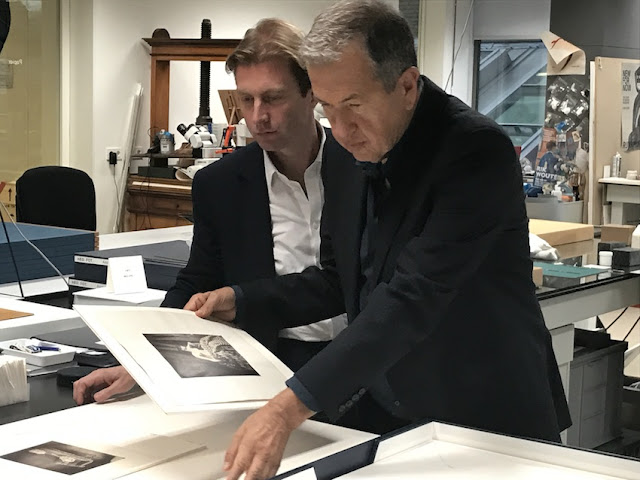 Taco Dibbits and Mario Testino at the Rijksmuseum Amsterdam