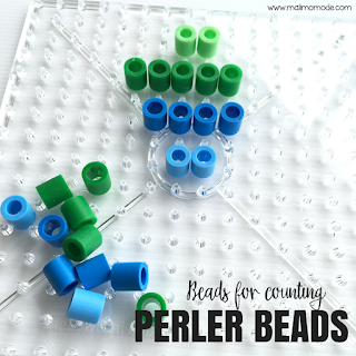 Malimo Mode - Top 10 Favorite Back To School Finds! Extra larger perler beads as math manipulatives.