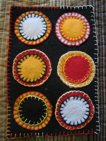Children Can Sew This Miniature Penny Rug Art Education
