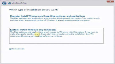 Cara Install Ulang Windows 8