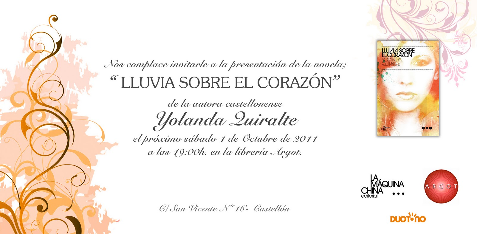 Lluvia Sobre El Corazón Yolanda Quiralte Escribe Romántica