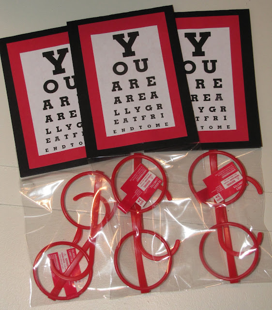 Eye Glasses Valentine Printables @michellepaigeblogs.com
