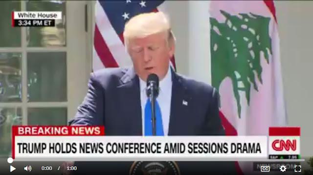 Politics: President Trump today: Live updates