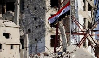 رسيماً قوات الجيش السوري تسيطر على درعا