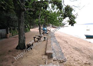 Imagem da Praia dos Frades - Ilha de Paquetá