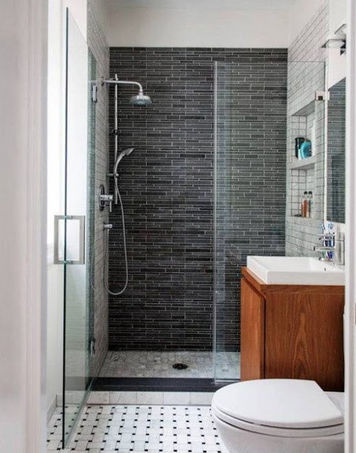 tips menata kamar mandi minimalis agar rapi