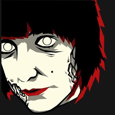 Adam Steel zombie portrait