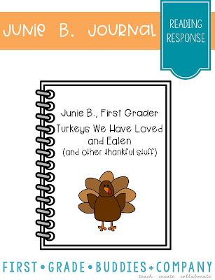 https://www.teacherspayteachers.com/Product/Junie-B-First-Grader-Thanksgiving-Reading-Response-Journal-792395