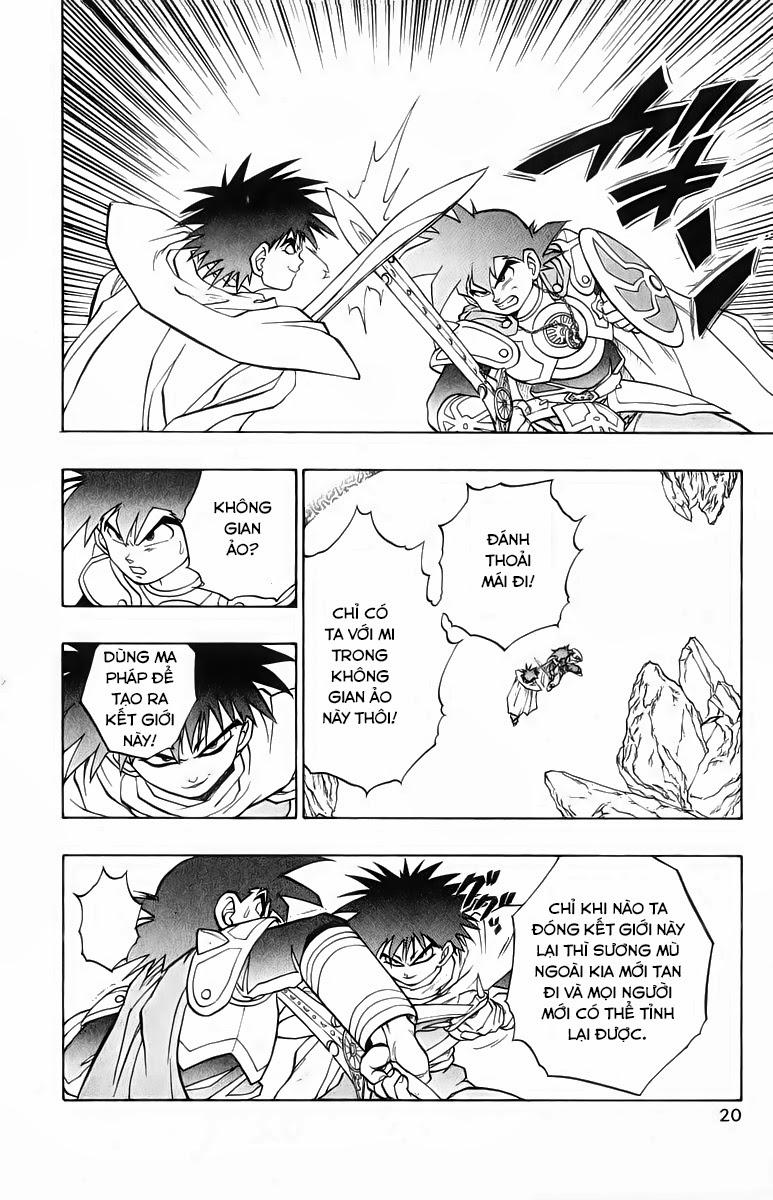 Dragon Quest: Emblem of Roto chap 34 trang 15