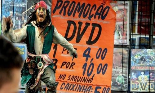 s brasileiros amam pirataria