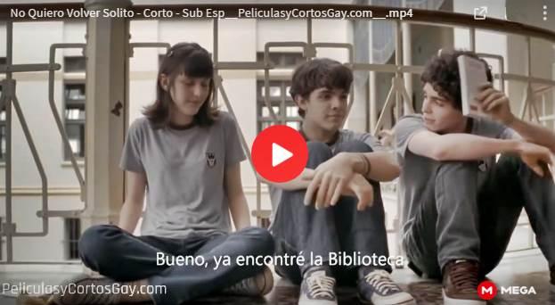 CLIC PARA VER VIDEO Hoy No Quiero Volver Solito - CORTO - Brasil - 2010