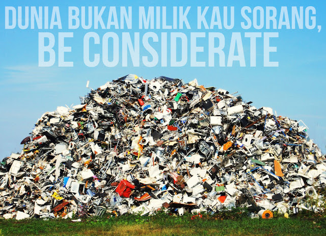 Be considerate Malaysians