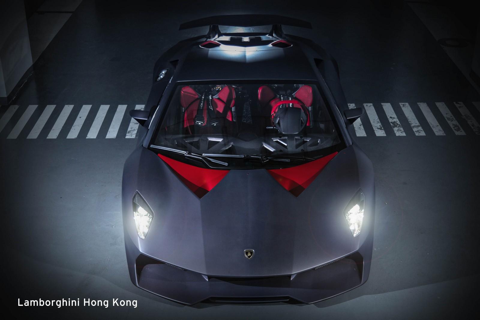 Siêu xe Lamborghini Sesto Elemento