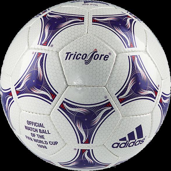 Bola Resmi Piala Dunia FIFA 1998 Tricolore