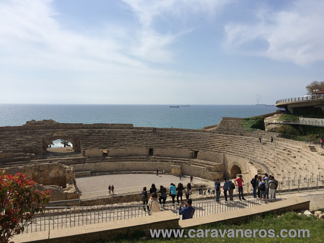 Foto del Anfiteatro romano de Tarragona | caravaneros.com