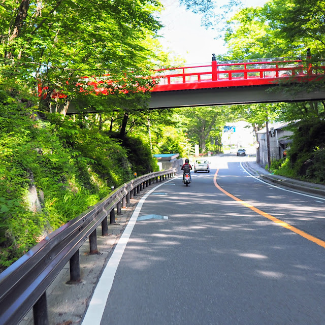 富士パノラマライン 赤い欄干