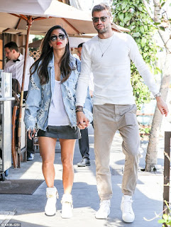 Grigor Dimitrov And Nicole Scheringer Taking Walk Through Beverly Hills