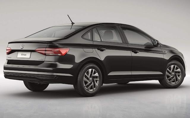 VW Virtus 2019 Sense para PcD