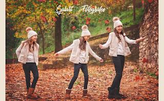 Fotografía de Navidad e invierno en exteriores. Galart Fotógrafos