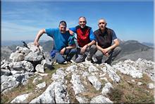 Pico Castaño mendiaren gailurra 1.861 m. --  2017ko apirilaren 13an