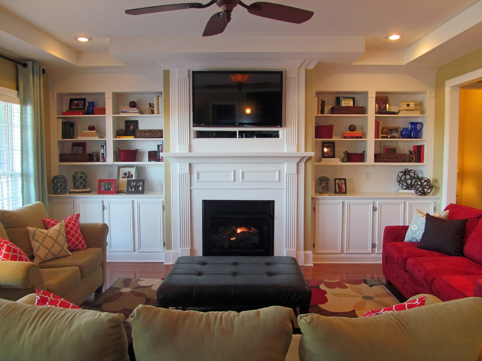 Family Room Makeover: Before and After Photos