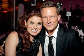 Debra Messing dan Will Chase