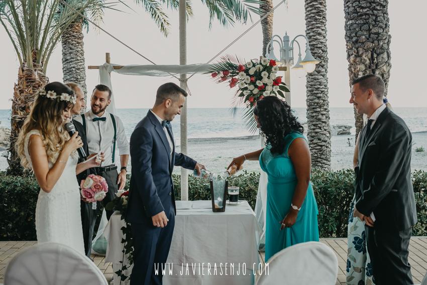 boda ritual de las arenas