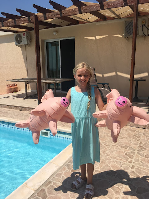 Playing Giant Pass the Pigs in Cyprus