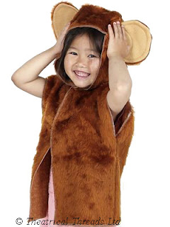 Monkey One Size Costume from Theatrical Threads Ltd