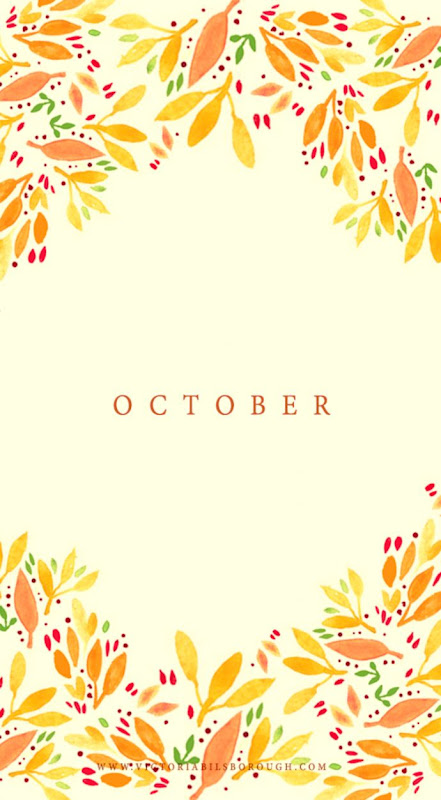 October Fall Wallpapers — Victoria Bilsborough