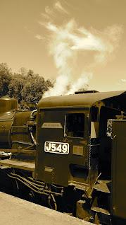 Victorian Goldfields Railway Castlemaine to Maldon