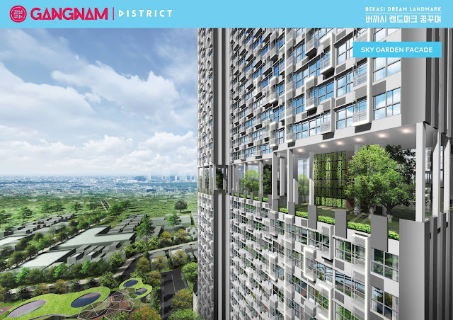 sky garden at gangnam district bekasi