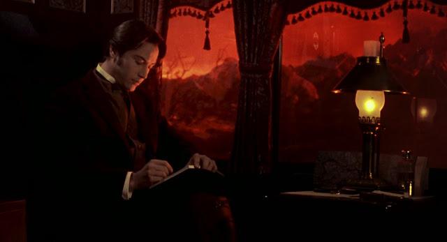 Jonathan Harker (Keanu Reeves) dans Dracula de Coppola (1992)