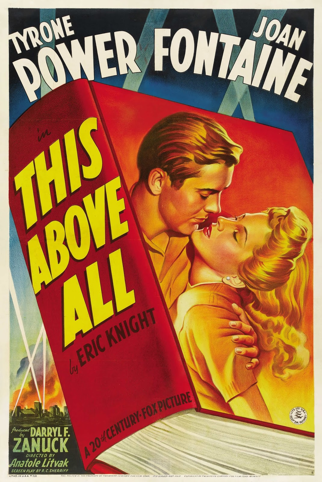 """Back To Golden Days: Film Friday: """"This Above All"""" (1942"""