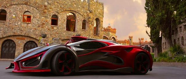 Inferno Exotic Car - 11 ejemplares conforma la Primera Edición