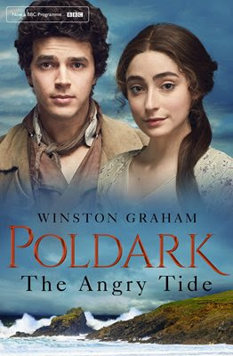 Poldark, The Angry Tide, cover, Drake, Morwenna