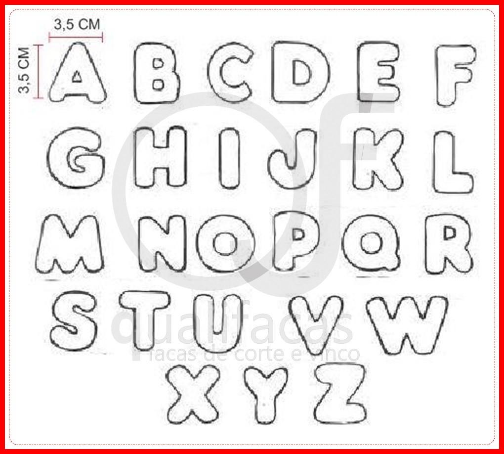 Para Letras Alfabeto Imprimir