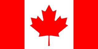 Le Chameau Bleu - Drapeau Canada