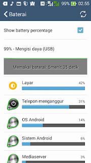 Status baterai ASUS
