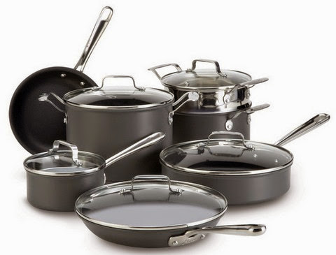 Emeril Hard Anodized Nonstick 12-Piece Cookware Set