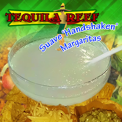 Only at Tequila Reef Cantina